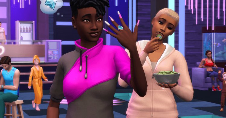 Sims 4 Spa Day update adds high maintenance Sims and ways to pamper them