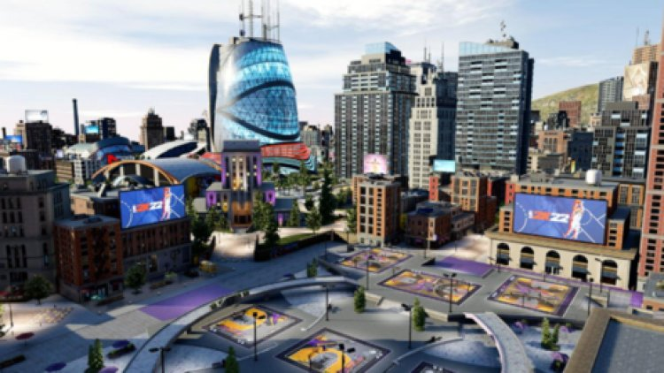 NBA 2K22's Social Hub The City Is Expanded And Improved This Year On PS5 And Xbox Series X S