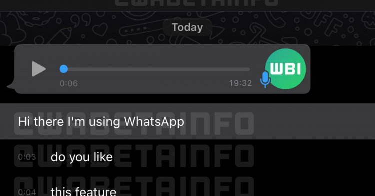 WhatsApp reportedly developing transcriptions to tame chaotic voice notes