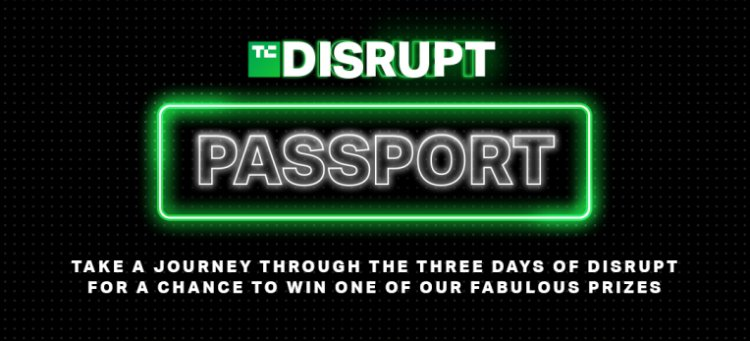 Stamp your Passport to Disrupt for a chance to win these prizes