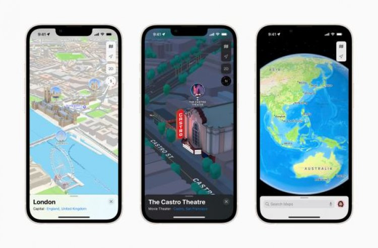 Apple Maps rolls out 3D view to London, L.A., New York, and San Francisco