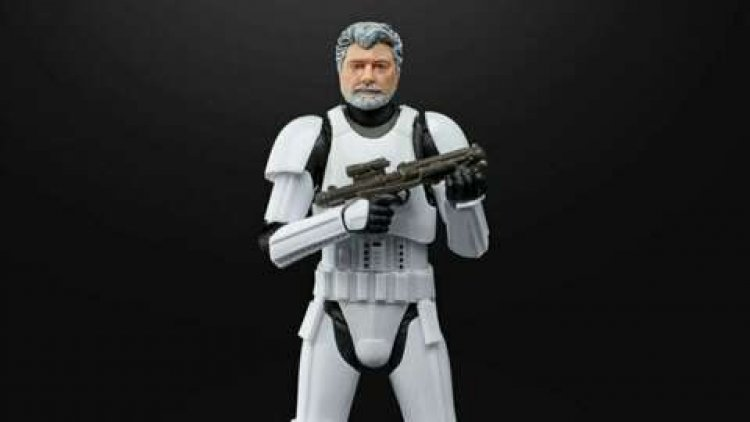Star Wars Creator George Lucas Is Getting A Stormtrooper Action Figure
