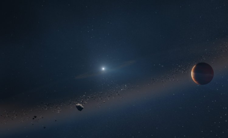 Planet orbiting a dead star previews our own solar system's fate