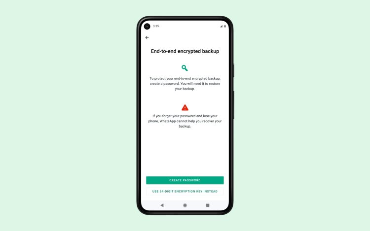 WhatsApp begins rolling out end-to-end encryption for chat backups
